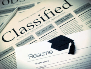 resume writing career in classified ads