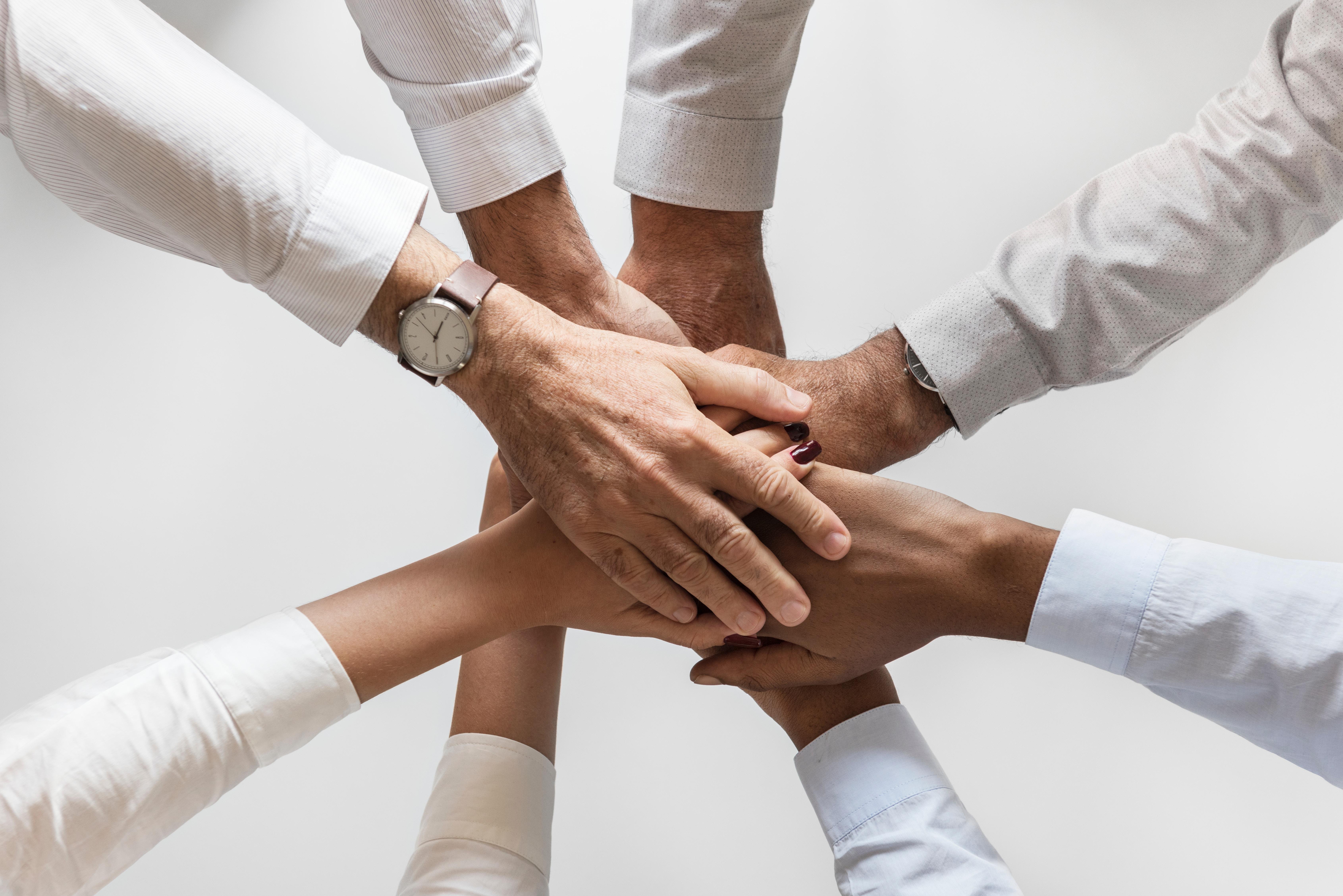 instilling teamwork in finishing a task