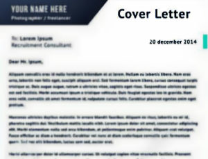 Empower the Resume with a Catchy Cover Letter