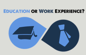 What Comes First in Resume Education or Work Experience
