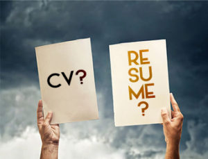 What Suits You CV or Resume