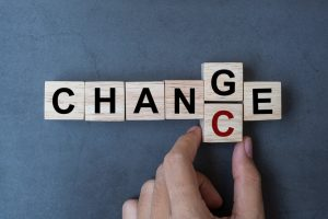 Image of scrabble tiles for giving career change a chance