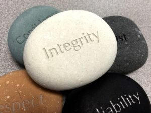 Values written in stones every professional resume must have