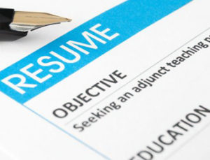writing objectives for resume