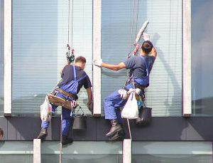 High-Rise Window Washers