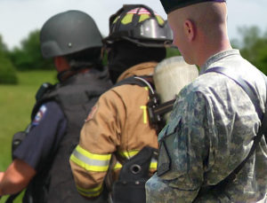 terrifying jobs - police, firefighters, and armed forces