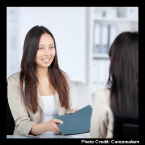 Human Resources staff conducting an interview