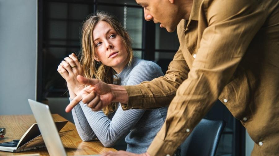 an employee dealing with a horrible boss