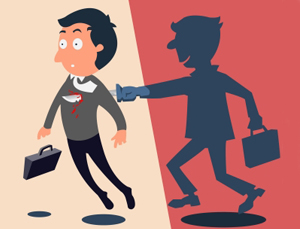 dealing with workplace backstabbers