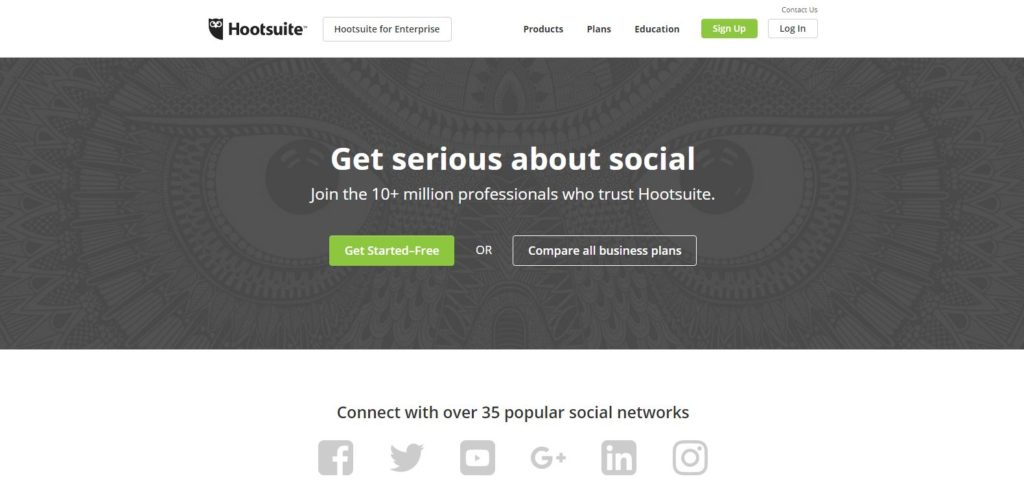 Hootsuite: job search tools