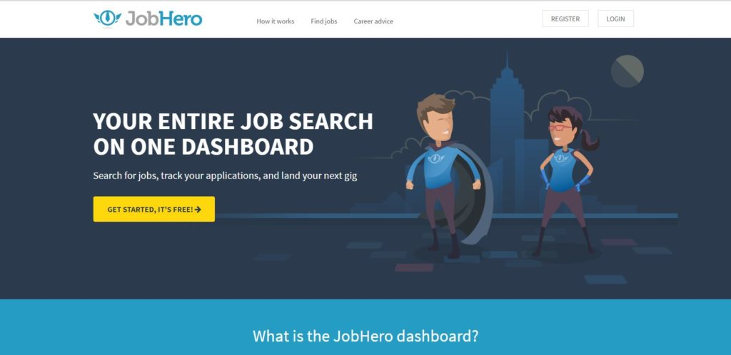 JobHero: job search tools