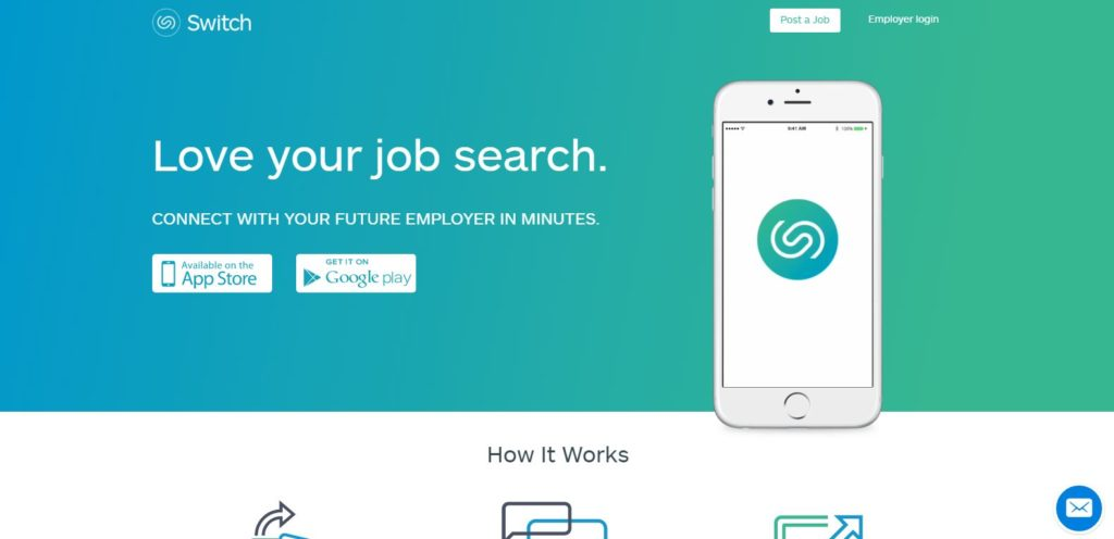 Switch: job search tools