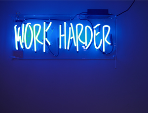work harder: internship lessons