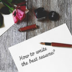 letter on how to write the best resume