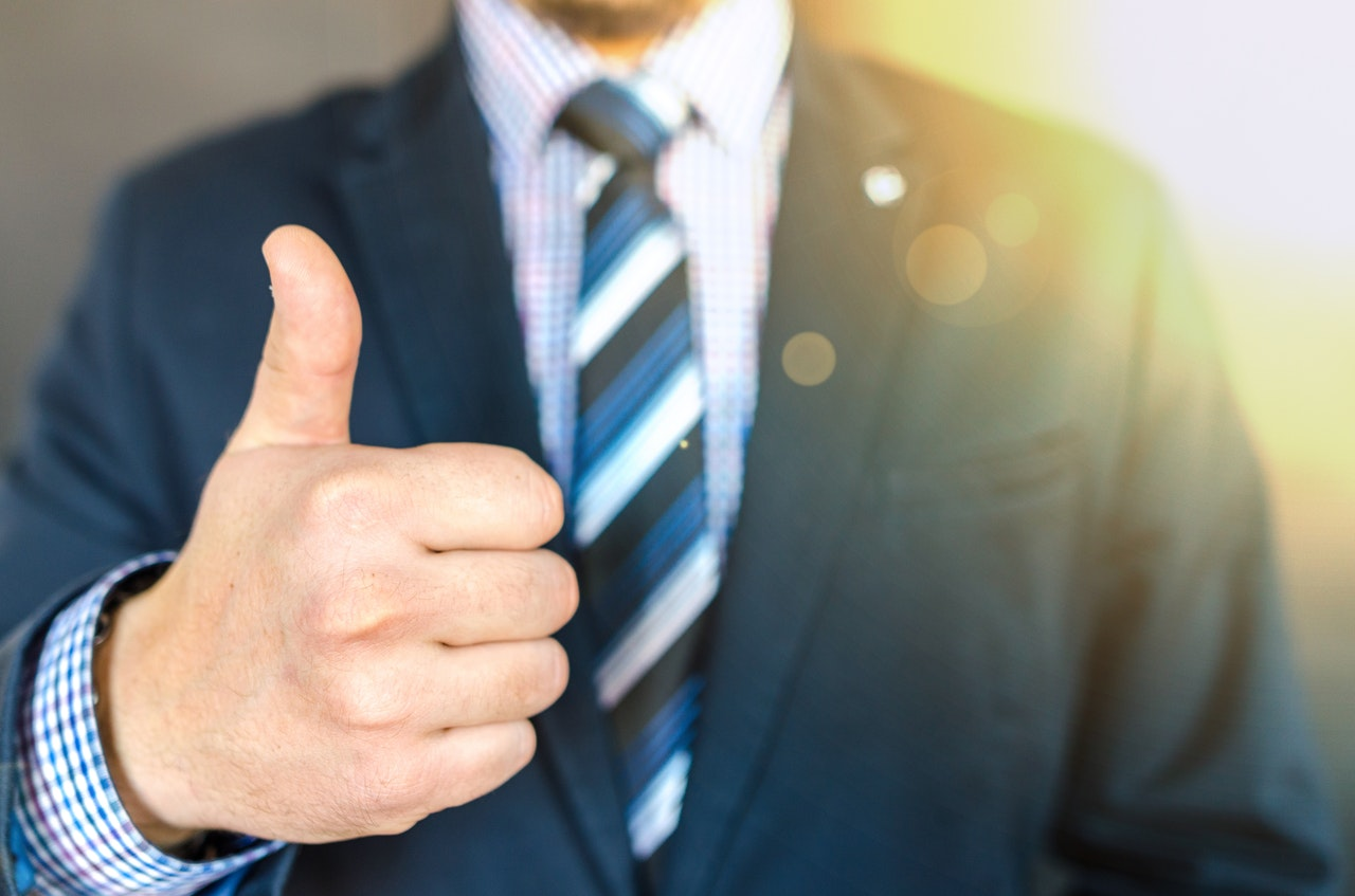 a thumbs up from certified resume writers