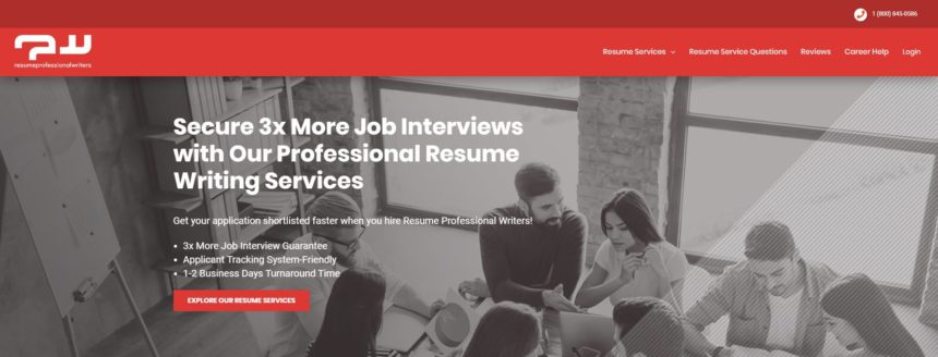 RPW for top resume writing services