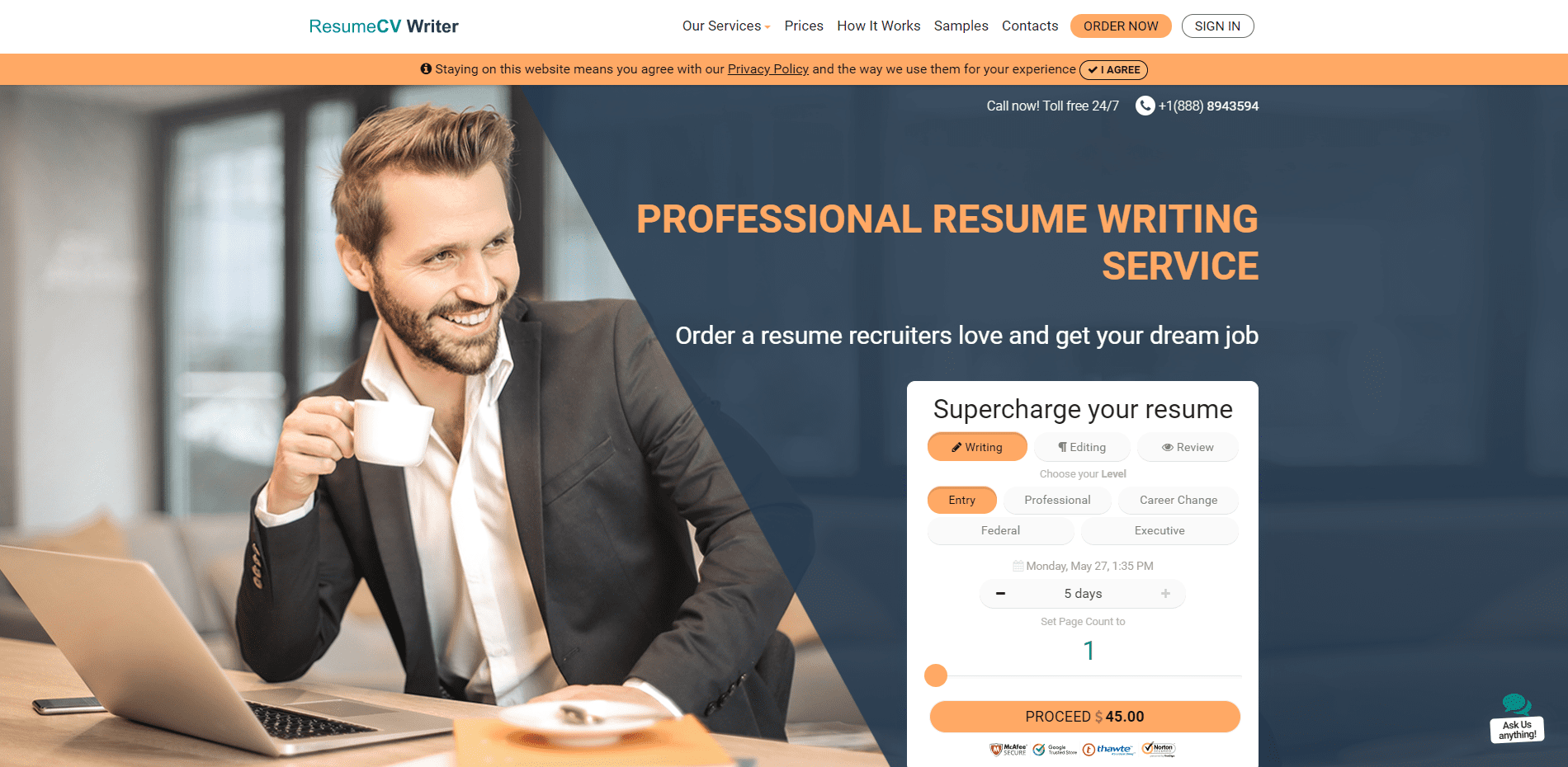 10 Best Military Resume Writing Services (2020): No. 4 Resume CV Writer