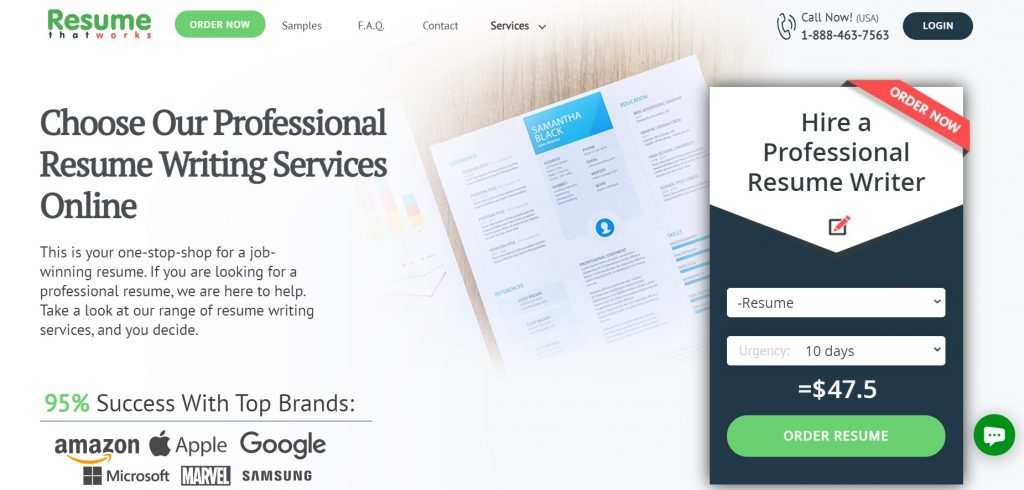 Federal Resume Writing Service in 2021 – Resume That Works Homepage