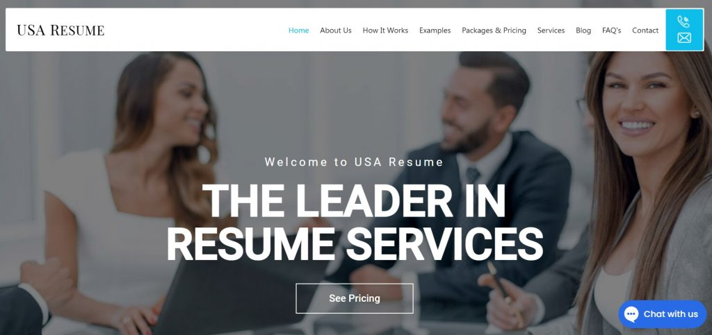 Federal Resume Writing Service in 2021 – USA Resume Homepage